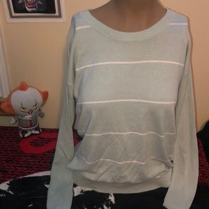 Mint green long sleeve top size XS like new